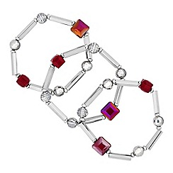 Principles by Ben de Lisi - Designer cube bead bracelet set