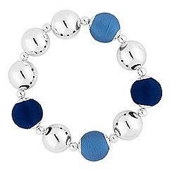 Principles - Designer blue orb bracelet