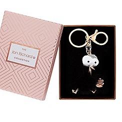 Jon Richard - Fluffy bird keyring in a gift box