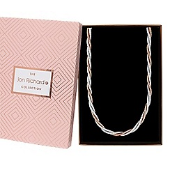 Jon Richard - Multi tone twist chain necklace in a gift box