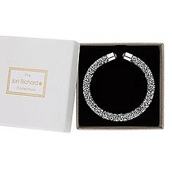 Jon Richard - Silver crystal sparkle bangle in a gift box