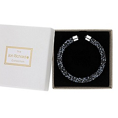 Jon Richard - Blue crystal sparkle bangle in a gift box