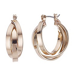 The Collection - Twist hoop earrings