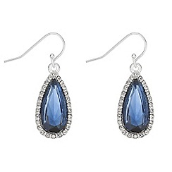 The Collection - Crystal peardrop earrings