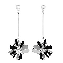 The Collection - Beaded flower earrings