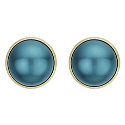 The Collection - Dome pearl earrings
