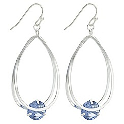 The Collection - Crystal cage drop earrings