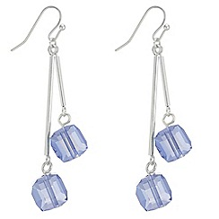 The Collection - Cube drop earrings