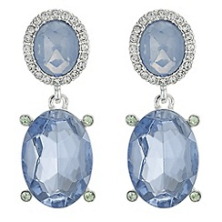 The Collection - Faceted crystal drop earrings