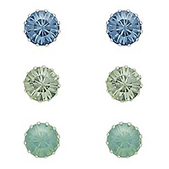 The Collection - Crystal stud earring set