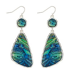 The Collection - Abalone drop earrings