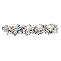The Collection - Crystal cluster hair clip
