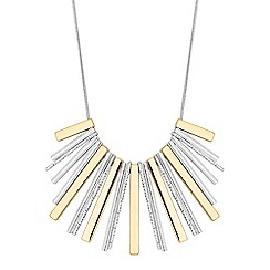 The Collection - Multi tone stick necklace