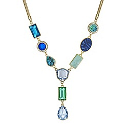 The Collection - Tonal crystal y necklace