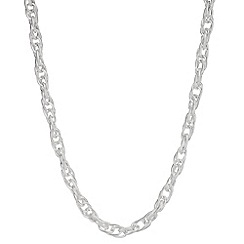 The Collection - Silver link chain necklace