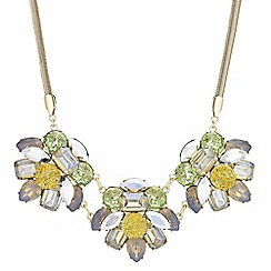The Collection - Layered druzy crystal necklace