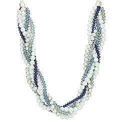 The Collection - Pearl and bead twist necklace