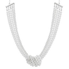 The Collection - Pearl knot necklace