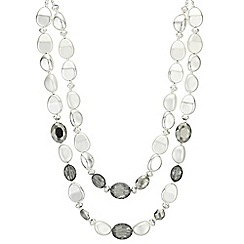 The Collection - Faceted crystal multi row necklace
