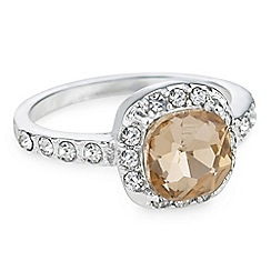 The Collection - Crystal halo ring