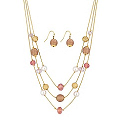 The Collection - Multi row sphere jewellery set