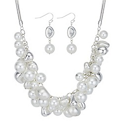 The Collection - Pearl and bead shaker jewellery set