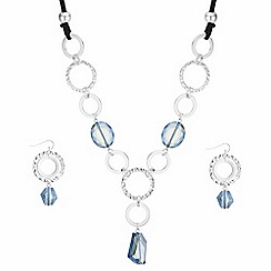 The Collection - Bead and hoop link jewellery set