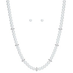The Collection - Pave pearl jewellery set