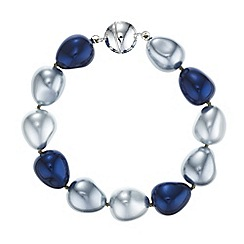 The Collection - Blue pearl bracelet