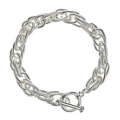 The Collection - Silver link chain bracelet