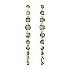 J by Jasper Conran - Faceted crystal droplet earrings
