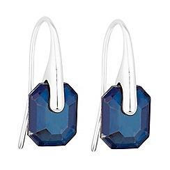 J by Jasper Conran - Designer faceted crystal earrings