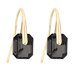 J by Jasper Conran - Designer faceted crystal earrings