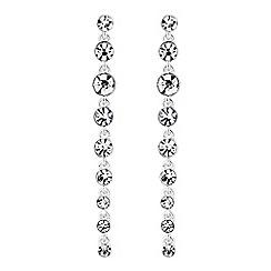 J by Jasper Conran - Designer graduated crystal drop earrings