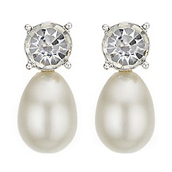 J by Jasper Conran - Designer pearl drop earrings