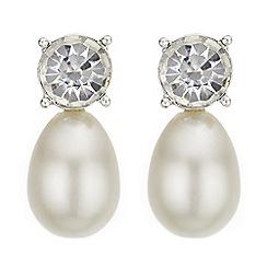 J by Jasper Conran - Designer pearl drop earrings