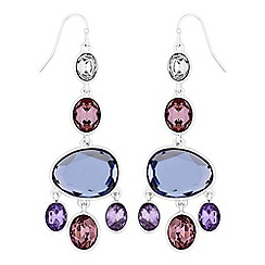 J by Jasper Conran - Designer crystal chandelier earrings
