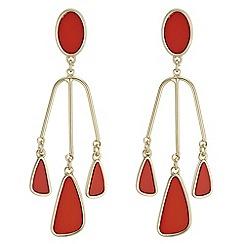 J by Jasper Conran - Designer droplet chandelier earrings