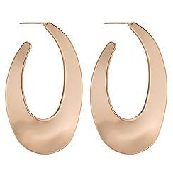 J by Jasper Conran - Designer organic hoop earrings