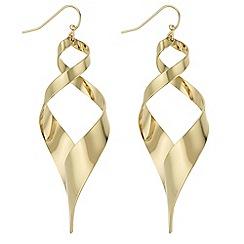 J by Jasper Conran - Designer twist drop earrings