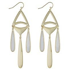 J by Jasper Conran - Designer shell droplet earrings