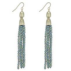 J by Jasper Conran - Designer beaded tassel drop earrings
