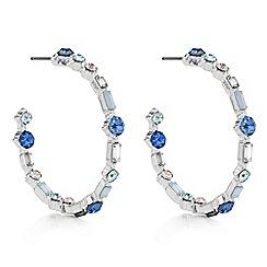 J by Jasper Conran - Designer crystal hoop earrings