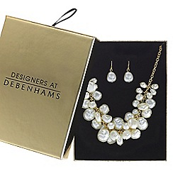 J by Jasper Conran - Designer pearl shaker jewellery set in a gift box