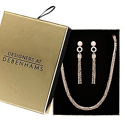 J by Jasper Conran - Designer snake chain jewellery set