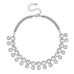 J by Jasper Conran - Designer silver crystal necklace