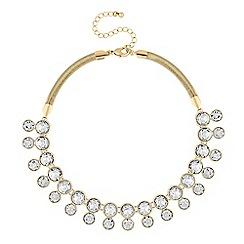 J by Jasper Conran - Designer gold crystal necklace