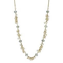 J by Jasper Conran - Designer beaded cluster long necklace