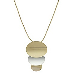 J by Jasper Conran - Designer organic shape necklace