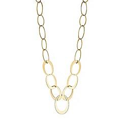 J by Jasper Conran - Designer oval link rope necklace